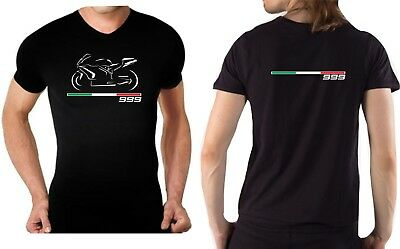 T-shirt maglia per moto Ducati 749 tshirt maglietta racing