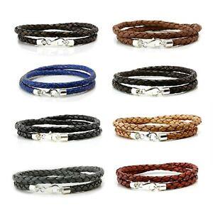 Cuir Noir enveloppé//Bracelet de cheville//Thong//Surf Bouton de manchette//bracelet