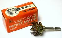 Lafayette 99-61566 4-pole 3 Position Rotary Switch