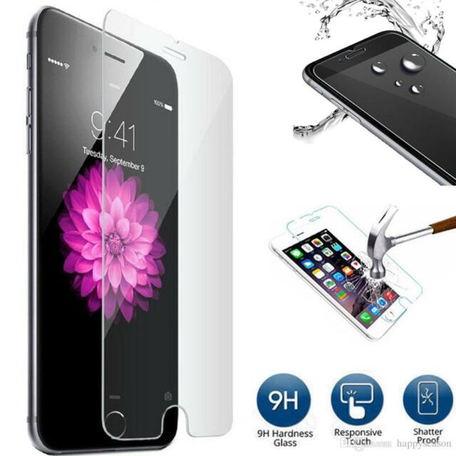 100% Genuine Tempered Glass 9H Film Screen Protector Guard For Apple iPhone 8
