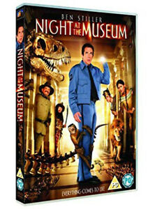 Night-at-the-Museum-DVD-SPECIAL-EDITION-HOLOGRAPHIC-SLIPCASE-BEN-STILLER
