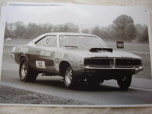 1969 Dodge Charger Dick Landy Race Car 11 X 17 Photo Picture Ebay