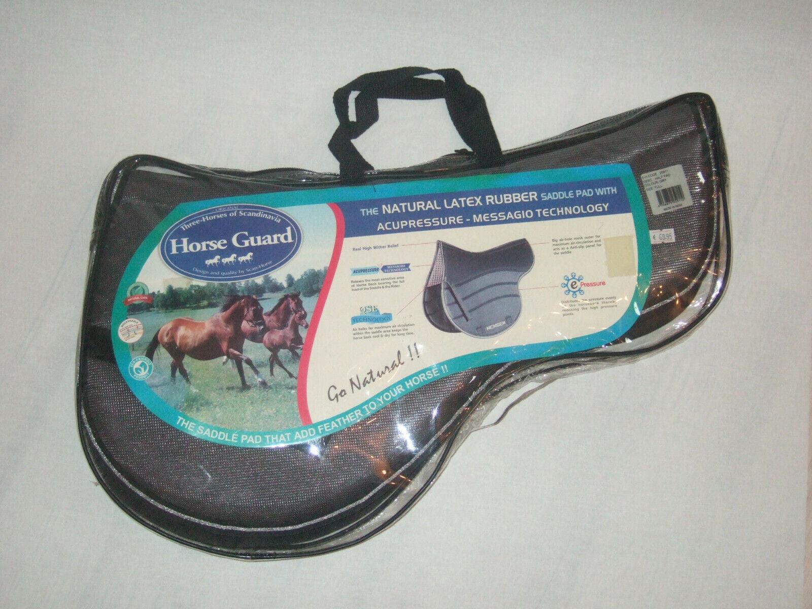 LATEX Sattelpad  mit Acupressure-Massage Technologie von HORSE GUARD