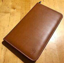 Rolex Leather Folder + Notepad + CARAN d'ACHE Pen Original Submariner Daytona
