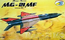 MiG 21MF /TYPE 96F/(CZECH, SLOVAK, EGYPTIAN & HUNGARIAN AF MKGS)#29  1/72 RV