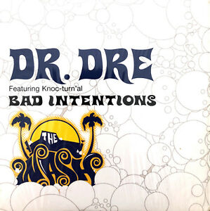 Dr-Dre-Featuring-Knoc-Turn-039-al-CD-Single-Bad-Intentions-Europe-EX-EX