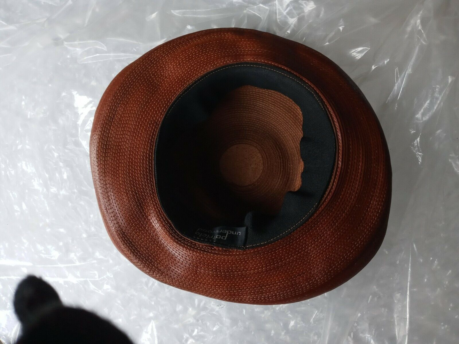 Patricia Underwood Hat Womens Wide Turned Brim Le… - image 10