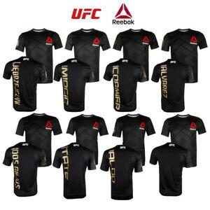 Reebok-Men-039-s-UFC-Official-Fighter-Jersey-Shirt