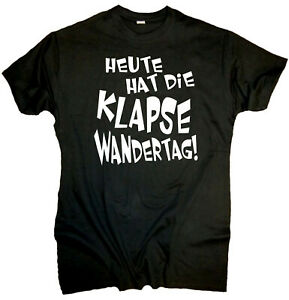 Fun T Shirt Klapse Wandertag Geschenk Jga Party Lustige Spruche Spass