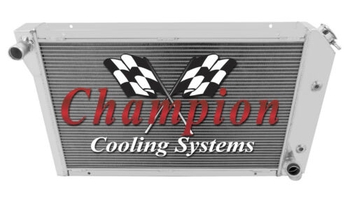Champion 3 Row Radiator with Dual 12in Fans 1977-1982 Chevrolet Corvette