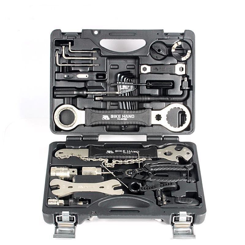 Kit  de herramientas profesional de reparación llave de radios rueda libre Pedal Llave para Shimano  el más barato