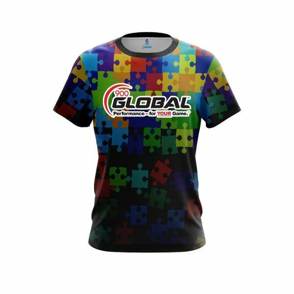 900 Global Autism Awareness Be Kind Bowling Jersey