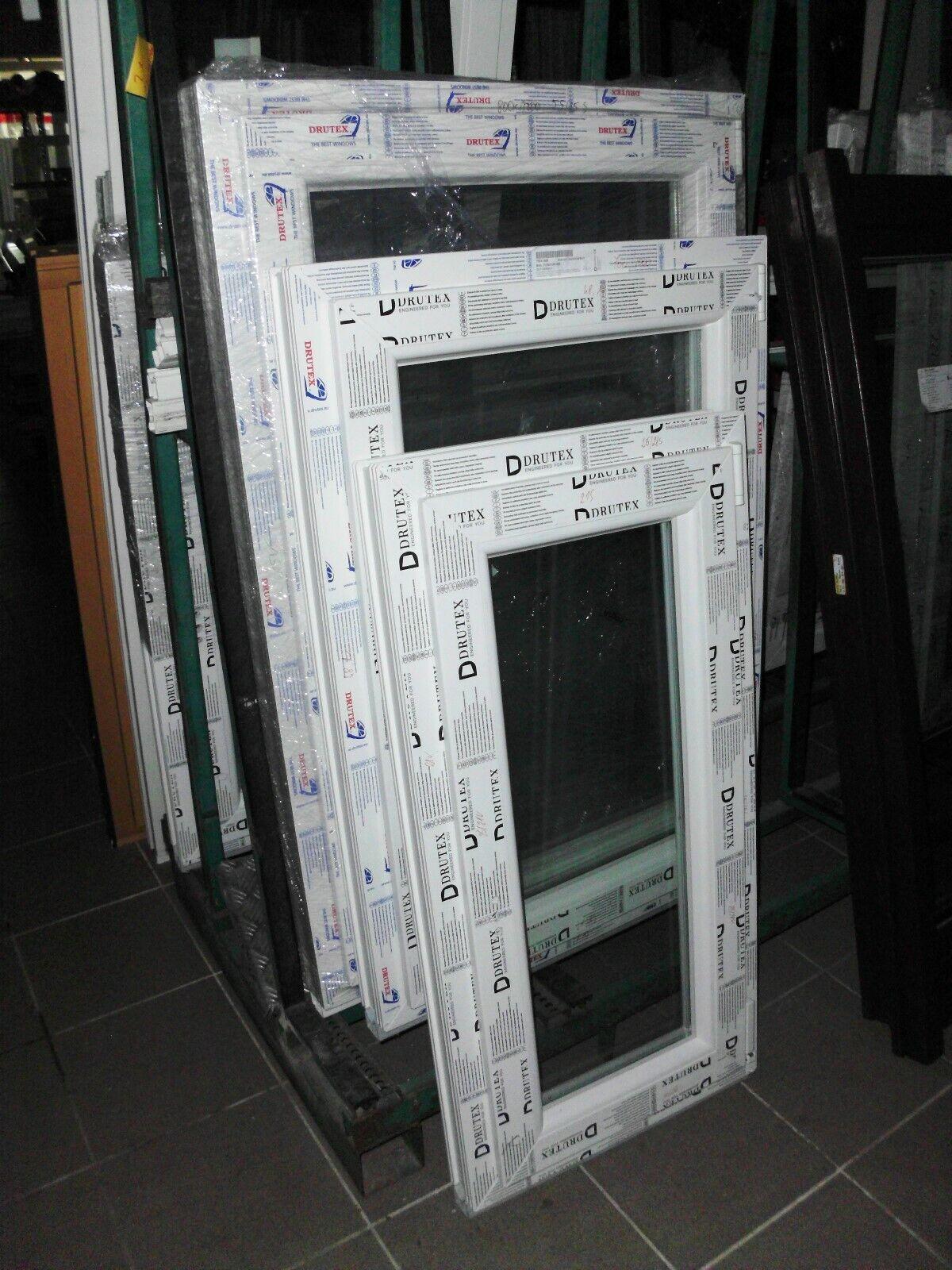 Kunststofffenster einfl. Fenster 1000mm hoch und alle Breiten neu Kellerfenster