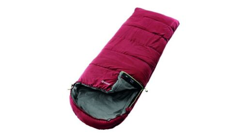 OUTWELL sac de couchage de plafond sac de couchage Campion ISOFILL Lux rouge 225x85cm tête de lit dans