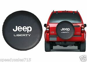 Image Is Loading Black Jeep Liberty Spare Tire Cover Wheel R15