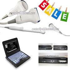 New Portable ultrasound scanner laptop machine 3 Probes Convex/Cardiac/Linear,CE