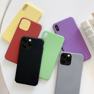 For iPhone 12 11 Pro XS Max XR 6S 7 8 Plus Shockproof Slim Hard Matte Case Cover