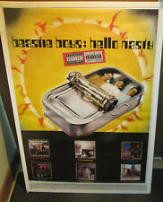 BEASTIE BOYS POSTER LIVE NEW NEVER OPENED EARLY 2000'S VINTAGE HELLO NASTY