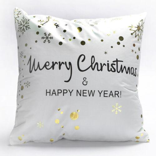 "18/"" Letter Leaf Plush Throw Bed Pillow Case Cushion Cover Home Sofa Car Decor"
