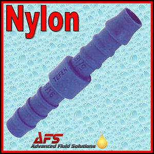 STRAIGHT-PLASTIC-Barbed-Hose-Joiner-In-Line-Connector-Fuel-Air-Silicone-Rubber