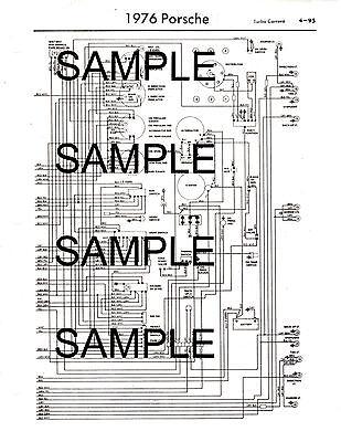 1976 bmw 2002 wiring diagram schematic 1976 bmw 2002 76 wiring diagram guide chart 76bk ebay  1976 bmw 2002 76 wiring diagram guide