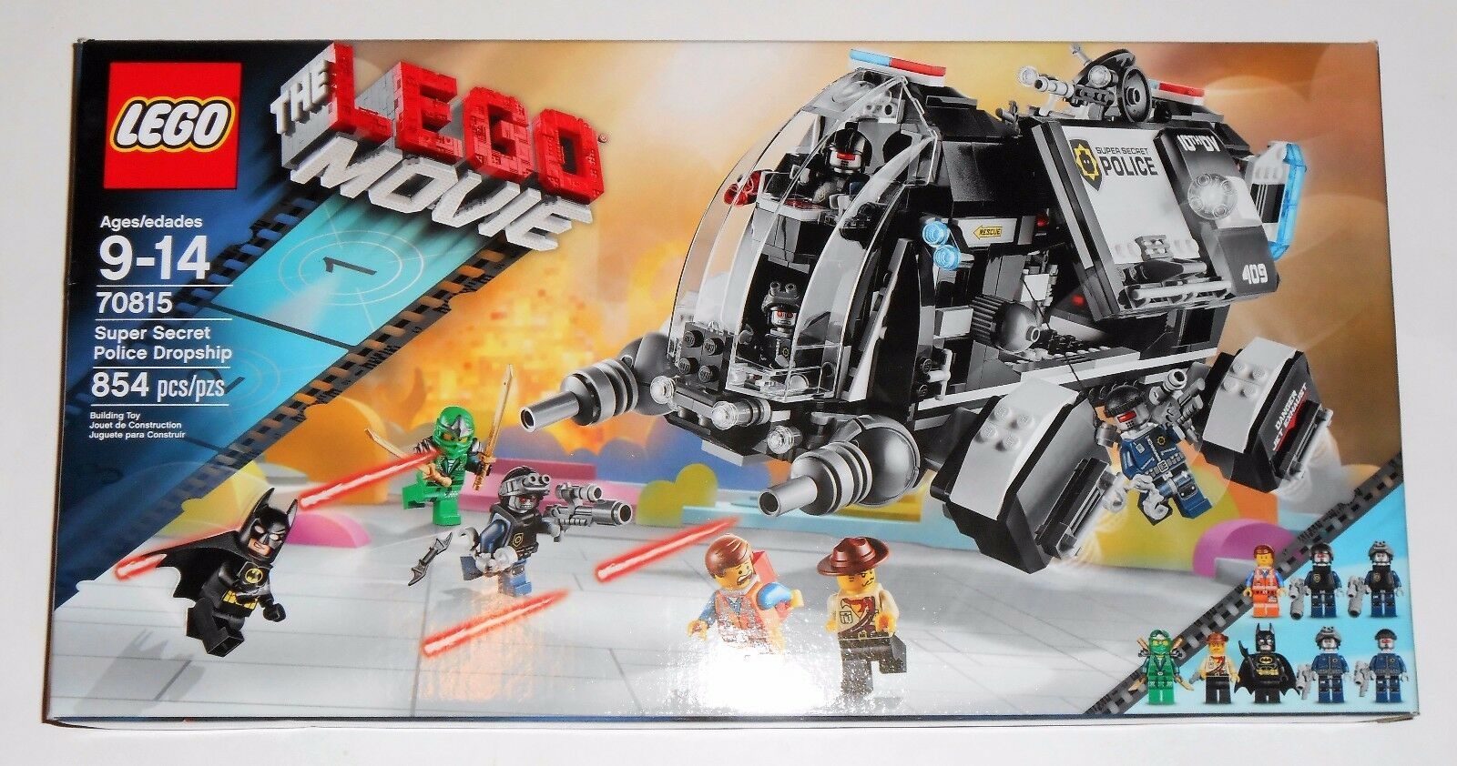 Lego la película Lego 70815 Super Policía Secreta Dropship