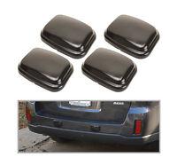 4x Universal Bumper Protector Guard Pad Kit Car Front Back Wall Rear Thick Black