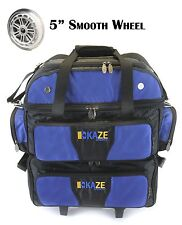 7cf5080c3c KAZE SPORTS 4 Ball Double Decker Bowling Bag Roller Tote Joey Add On Spare  Set