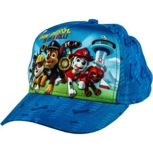 Kids Character Ball Caps Hats   Paw Patrol Angry Birds