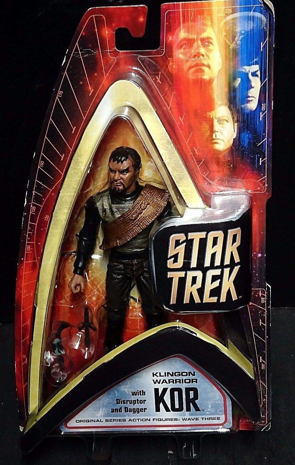 Star Trek Original Series Wave Three (3) KLINGON WARRIOR KOR New  John Colicos