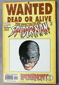 Marvel-Comics-The-Spectacular-Spiderman-Wanted-Dead-or-Alive-255-March