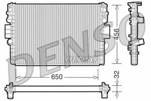 DENSO ENGINE COOLING RADIATOR FOR ANNO IVECO DAILY BOX BODY/ESTATE 2.8 62KW