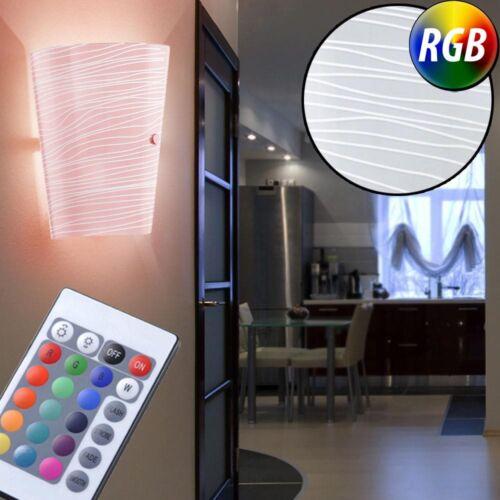 DEL Mur Lampe Escalier Maison RGB Télécommande Lampe Chambre SSE Variateur Luminaire