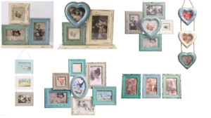 Image Is Loading Vintage Style Photo Frame Multi Picture Collage Frames