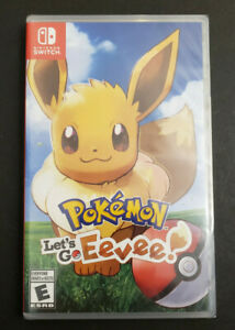 Pokemon-Let-039-s-Go-Eevee-Nintendo-Switch-NSW-Brand-New-BNIB-NA-Seller
