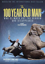 The 100-Year-Old Man Who Climbed Out the Window and Disappeared (DVD, 2015) NEW