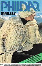 RARE Catalogue tricot PHIDAR MAILLES n° 32/Automne-hiver/Vintage années 80