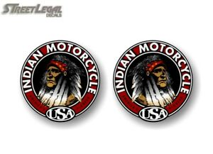 """Left-Right 2-22/"""" Grand Chief INDIAN MOTORCYCLE Graphics Vinyl Decals Stickers"""