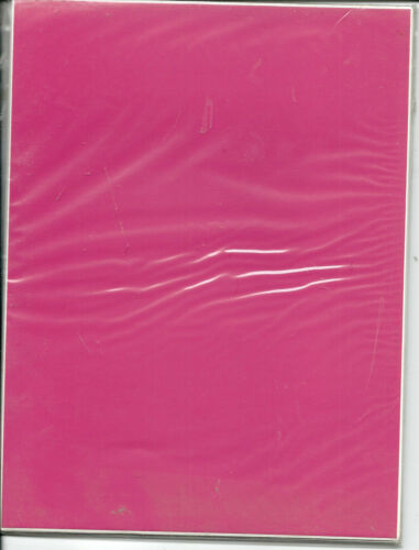 Pastel Self Adhesive A5 Die Cutting sheets own Peel Off/'s