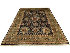 9X12-Fine-Persan-Sultanabad-Hand-Knotted-Wool-Area-Rug-Carpet-8-11-x-12-5