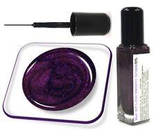 8ml Nail Art Fine Liner Farbe: Metallic Grape, in Glasflasche, Nr. 56