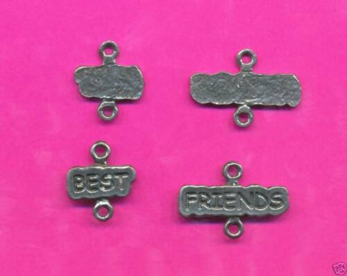 lead free pewter best friends charms 1219