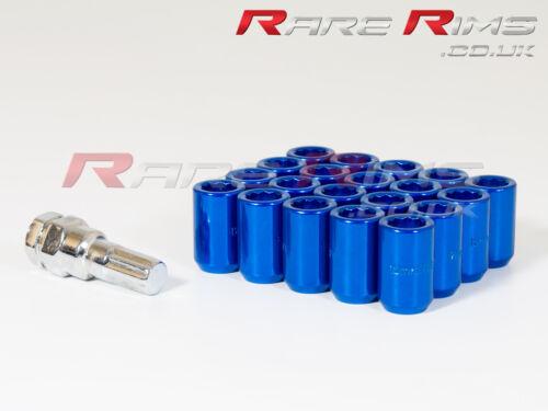Sintonizzatore BLU DADI delle ruote x 20 12x1.5 Adatta Mitsubishi Colt 3000GT GTO FTO L200