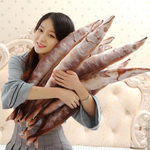 Fish Unique Bolster Throw Pillow Sofa Cushion Home Decor 22x2inch Saury