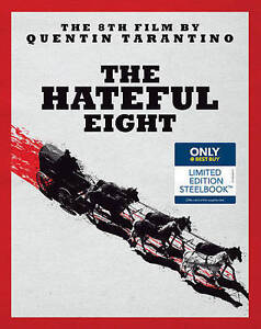 the hateful eight blu ray dvd 2016 steelbook only best buy ebay