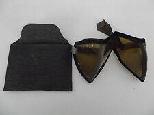Schub) Afrika Corps Sonnenschutz Brille Original Top Zustand