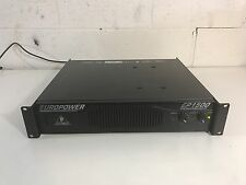 Behringer EuroPower EP1500 Stereo 2 x 700W Power Amplifier