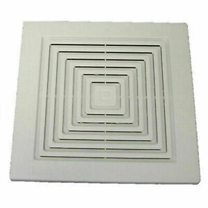 Bathroom Fan Cover Replacement Grill Vent Ventilation ...