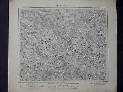 Liberal Karte Des Deutschen Reiches 220 Arnswalde, Choszczno, Neumark, Neuwedell, 1909 Krankheiten Zu Verhindern Und Zu Heilen