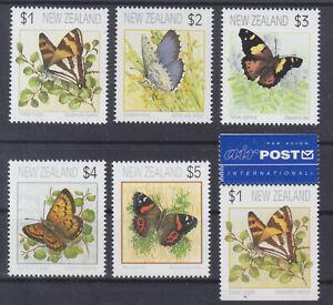 La Nouvelle-zélande 1208/10, 1397/98, 1208 D ** Papillons, Tamponné-, Postfrischfr-fr Afficher Le Titre D'origine Douceur AgréAble